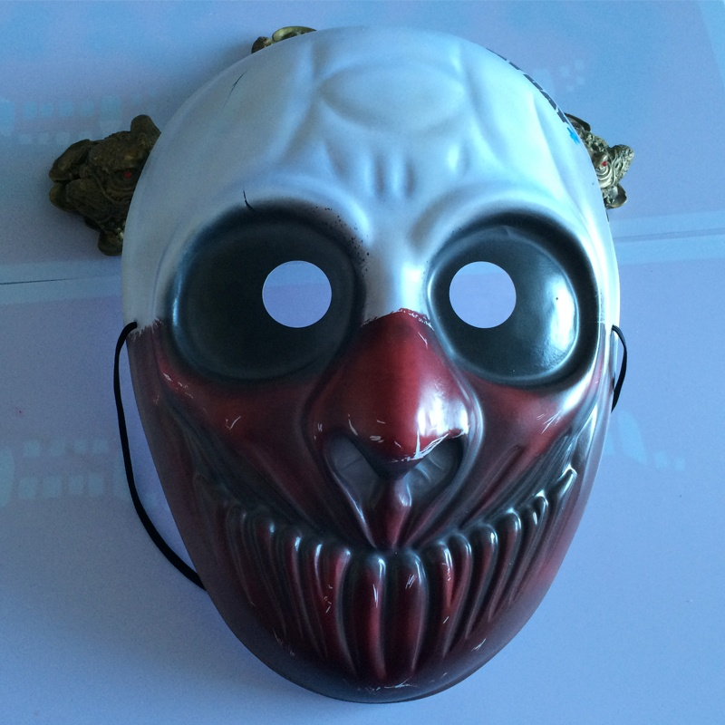 3d custom vormige maskerade halloween horror ghost zobie cartoon emoji dier masker fabrikanten