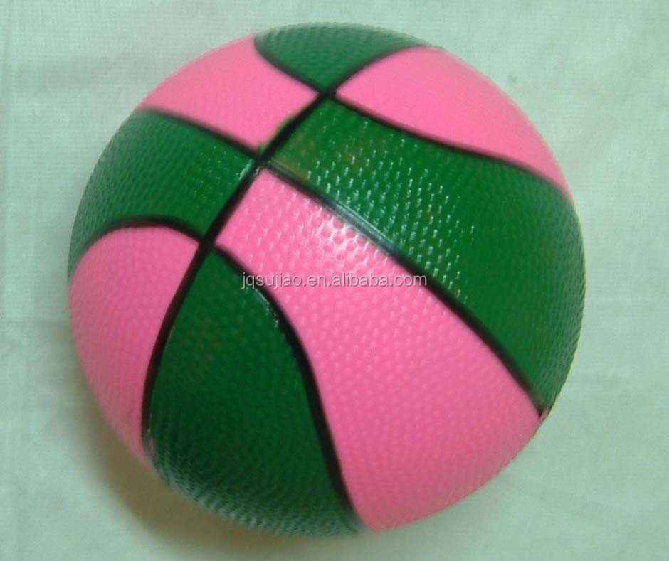 Non-toxic PVC basketball for kids, High-quality kid's stress ball,Pvc inflate basketball