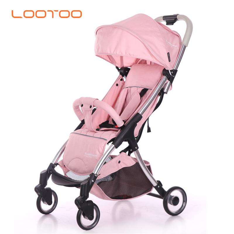 2019 china luxury aluminum fold multifunctional light weight infant stroller walkers european baby pram for children travel