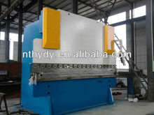 wc67k carbon steel/aluminium/stainless steel bending machine for metal sheet press brake swing arm