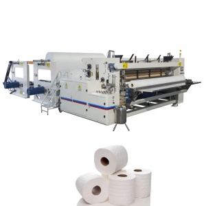 Automatic Small Toilet Tissue Paper Roll Making Machine