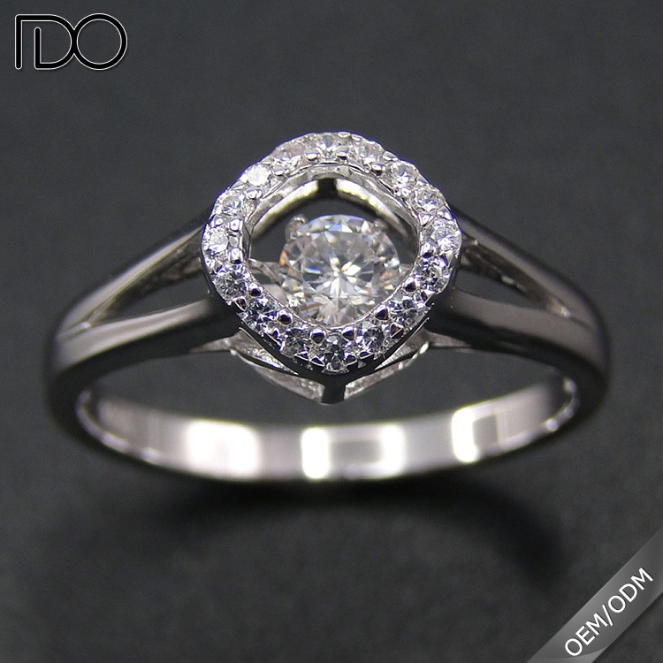 Customize top quality thailand diamond rings