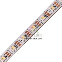 Addressable pcb board 144 programmable rgbw sk6812 led strip tape stripe rgbww rgbnw