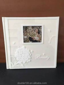 bulk crystal digital wedding photo album covers latest design with case