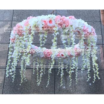 Lfb635 White Baby Pink 1 2m Luckygoods Handmade Luxury Flower
