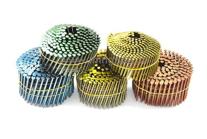 machine quality wire collated coil nails clavo coils