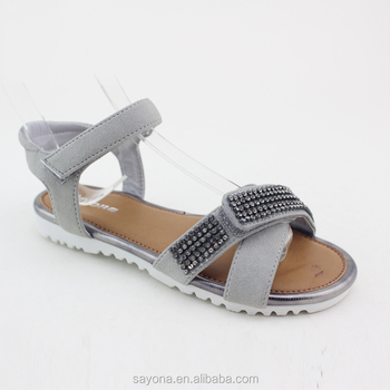 Latest Designs China Professional Stylish Flat Sandals For Girl ...