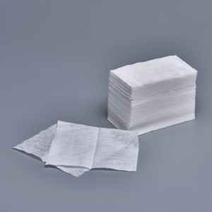 Facial Cotton Tissue Made of Pure Cotton 12x20cm 28gsm Cotton Tissue for Baby Skin Cleaning and Care