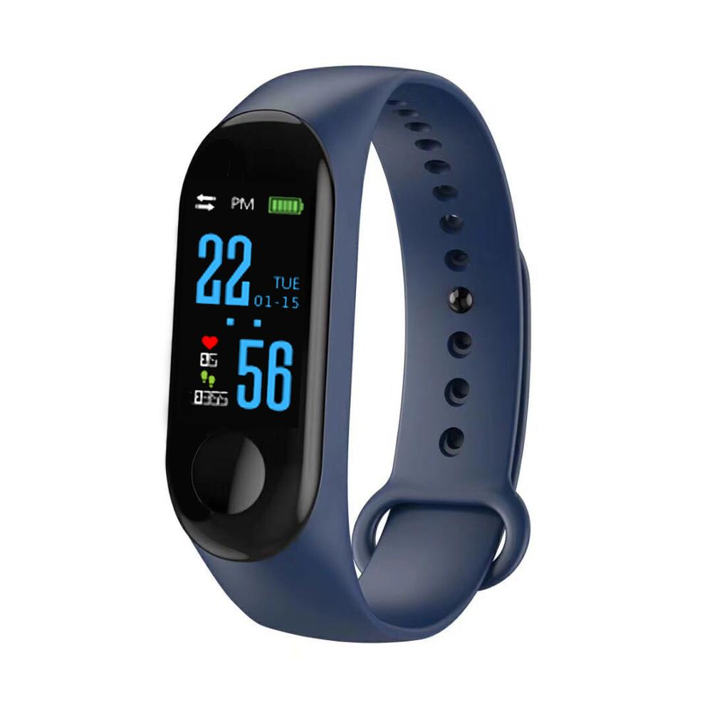 DFM3TPU wrist bands blue tooth heath Blood pressure Blood oxigen monitor Pedometer Distance record smart bracelet