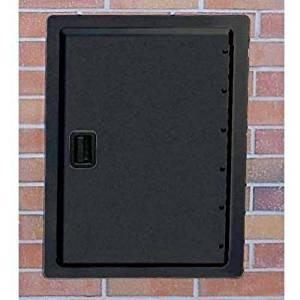 Fire Magic Legacy 14 Inch Black Single Access Door - Vertical