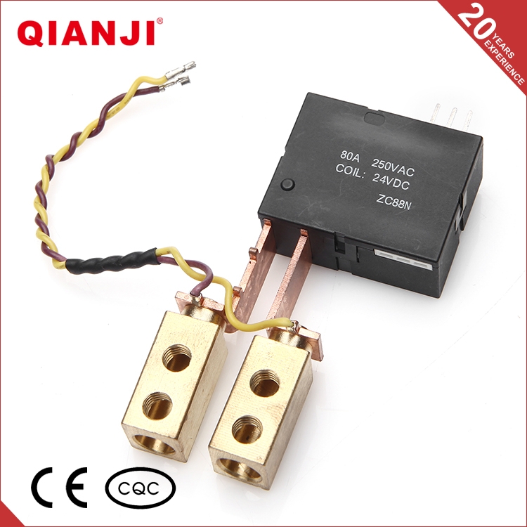 QIANJI Buy Chinese Products Online 12V 120A Din Rail Latching Relay For Automotive