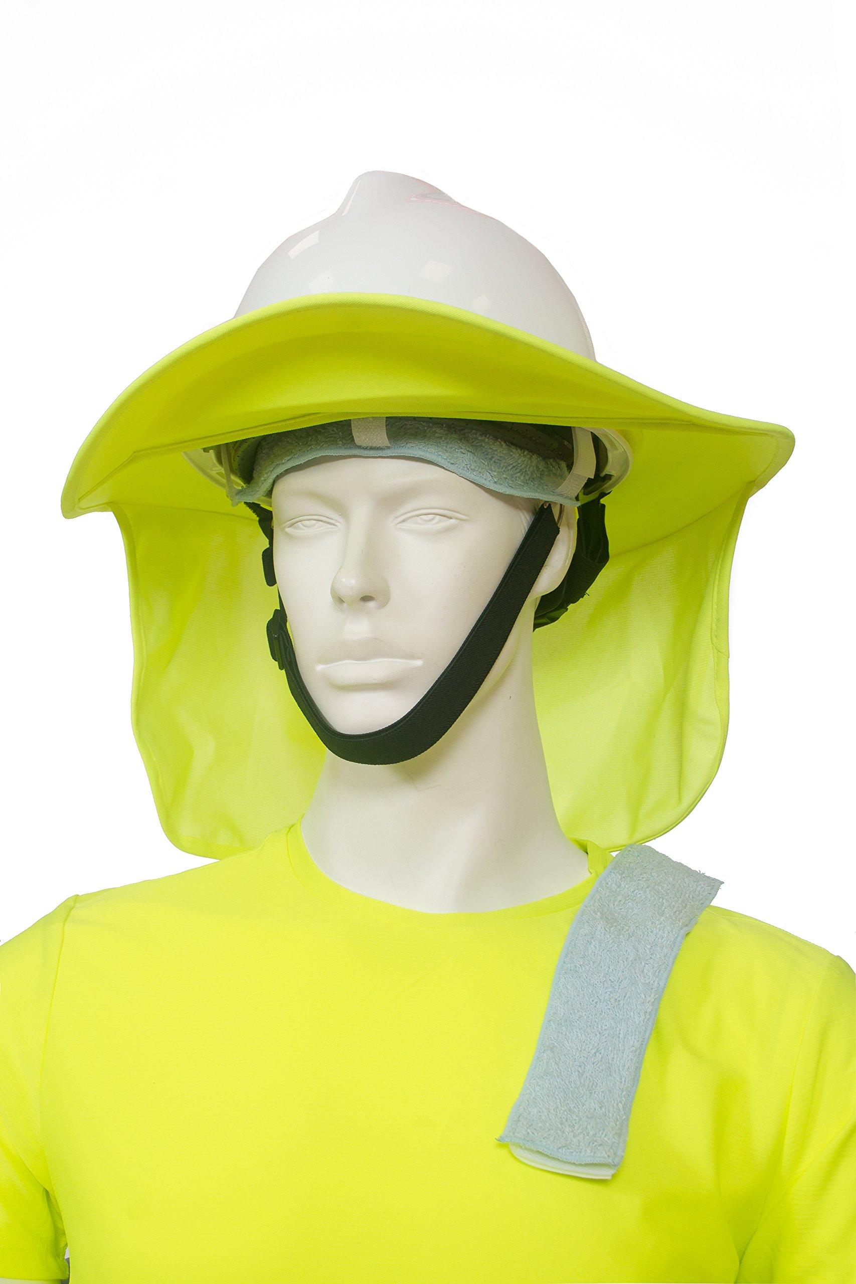 Get Quotations · Hard hat sun shade plus 2 sweatbands bundle    works on  baseball caps too   73d3e8ae3fa6