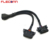 16Pin OBD2 OBDII Splitter Y Cable 1 male to Dual Female 16 Pin OBD II Extension Cable