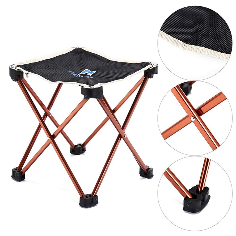 Travel or Beach QCHOMEE Folding Chair Folding Stool Camping Foldable Garden Chair Comfort Fishing Stool Folding Chair Collapsible Camping Stool Mini Portable Stool Outdoor Stool for Camping Fishing