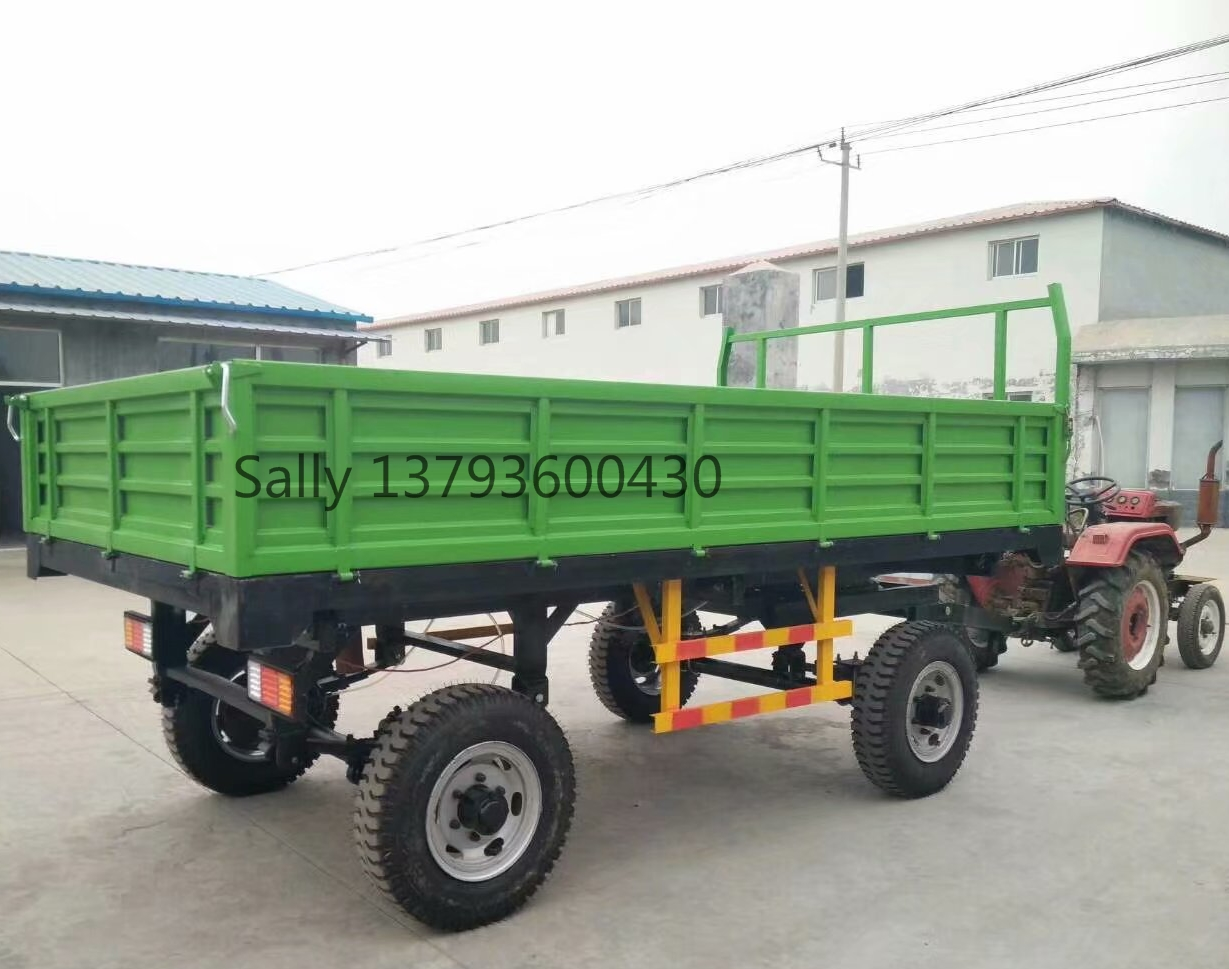 2018 model farm trailer made in  china