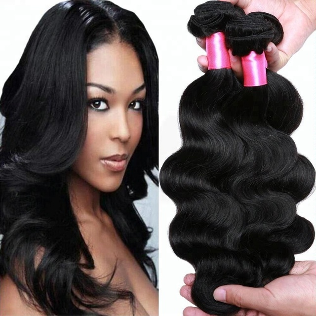 Cheap Price Wholesale Natural Black Mink Unprocessed Remy Virgin Brazilian Human Hair weave 100 Human Hair extension