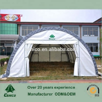Airplane Hangar, Commercial Storage Tent