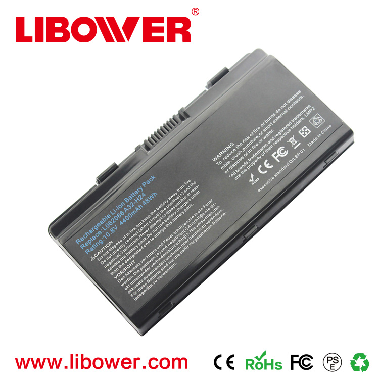 Factory China supplier Libower sell old laptop battery 4400mah case For Fujitsu SIM+ 4400 6165 A3150 2252 battery pack