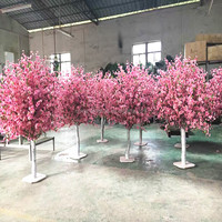 LSD-170511139 large outdoor lighted cherry blossom trees large artificial flower cherry blossom tree for wedding