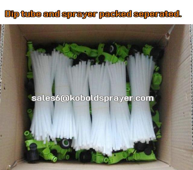 Kobold  Adjustable dial 5 mixing ratio plastic chemical hose end sprayers