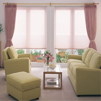Window roller blinds and curtains together buy blinds for Curtains and blinds together