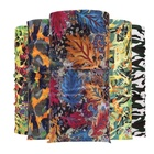 Organic Fabric Gym Anti-UV Fishing Elastic Tropical Print Magic Face Tubular Bandana For Men