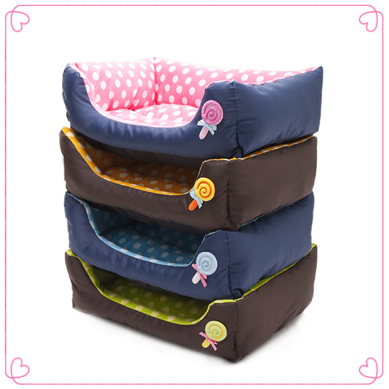 Hot Sales Pets Cat Dog Bed House Pet Kennel Different Sizes 5 Colors High Quality Warming Pet Bed Dog House