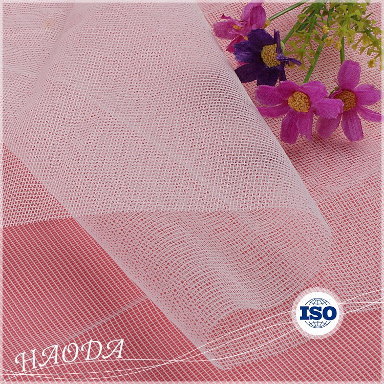 Haoda Cheap Chinese Embroider Nylon Knitting Polyester Net Fabrics For Juice Squeeze
