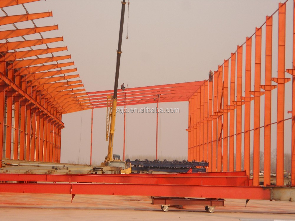 Cheap Large Span Prefab Steel Factory Warehouse Building Plans for sale