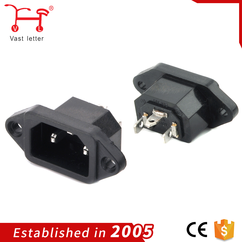 3-way Power Socket Outlet For Motorcycle Electrical Connector - Buy ...