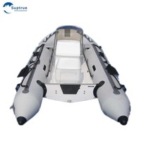 CE certificate 15 persons 5.8m fiberglass rigid hull inflatable boat for sale