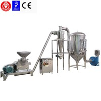 JB model automatic big capacity dry chinese cinnamon grinder machine