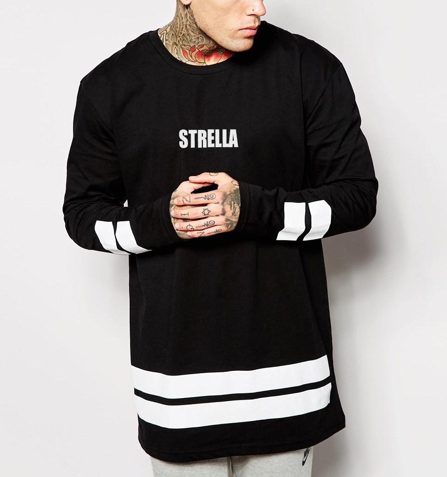 Custom screen printing long sleeve oversized t shirt buy for Long sleeve custom t shirts