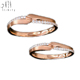 Hot Items! Modern Design Rose Gold Real Diamond Couple Rings with stone Artificial Kundan Bridal Jewellery Sets
