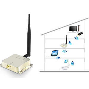 5W 2.4G wifi Wireless amplifier LAN signal booster 802.11B/G/N