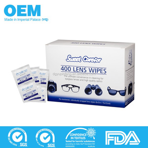 400pcs ultimate conveninent cleaning zeiss eyeglass lens wipes