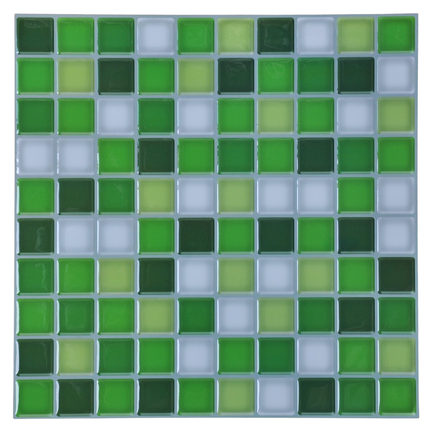Cheap bal wall tile adhesive find bal wall tile adhesive deals on get quotations hentl peel and stick tile 12 x 12 peel and stick kitchen backsplash green dailygadgetfo Choice Image