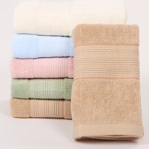 20 Years China Cotton Factory wholesale simply basic plain white cotton hotel hand towel cheap