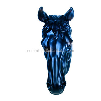 Custom Resin Wall Art Horse Head Decor Sculpture