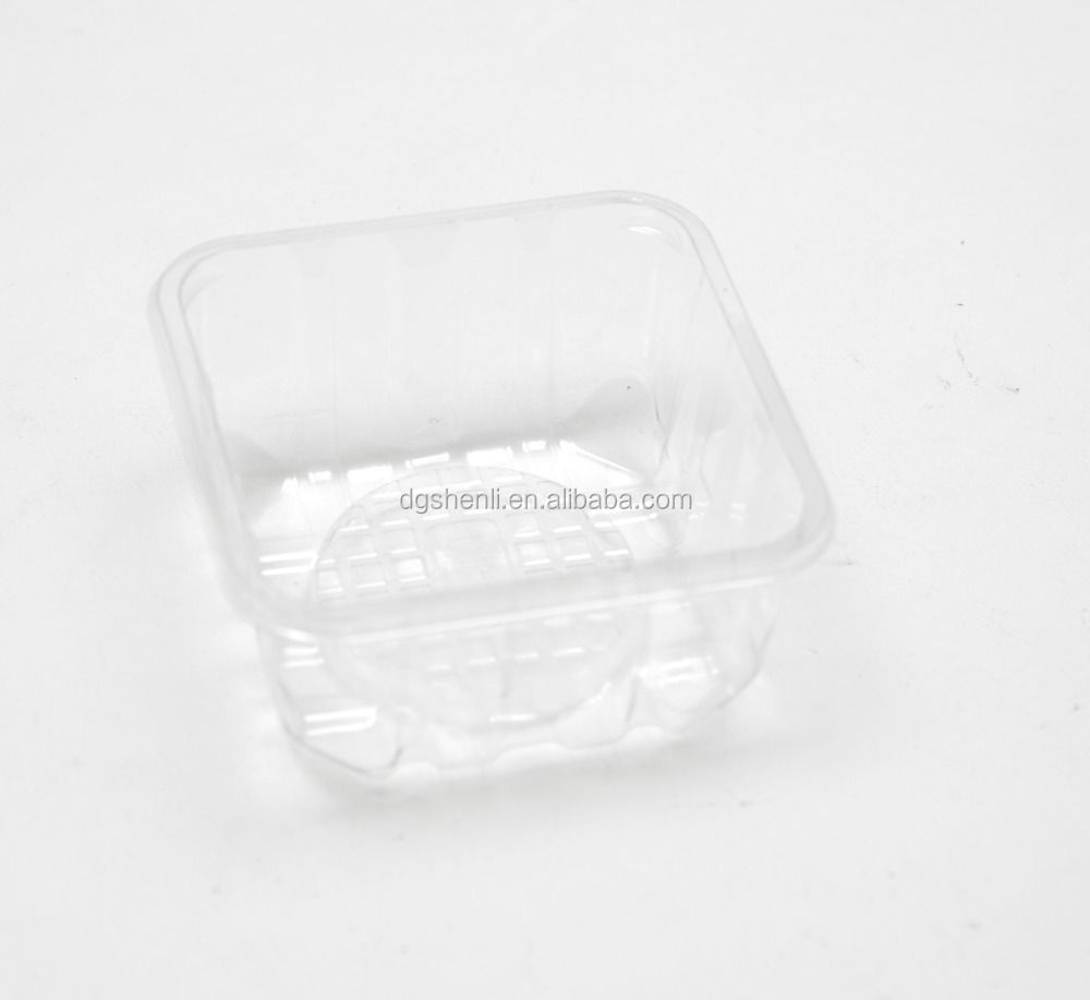 PET Fruit Packaging Clear Blister Tray for Food