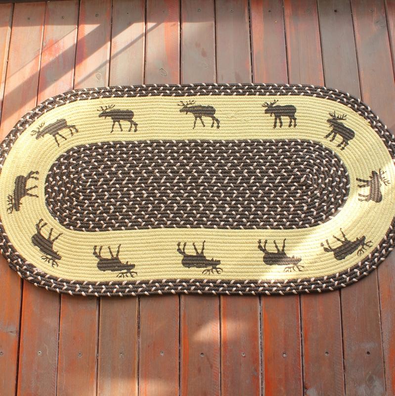 style am ricain cologique tapis de sol d 39 impression paillasson tapis de cuisine 50 100 cm dans. Black Bedroom Furniture Sets. Home Design Ideas