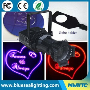Hot 200w 4-in-1 led stage spot/gobo leko light
