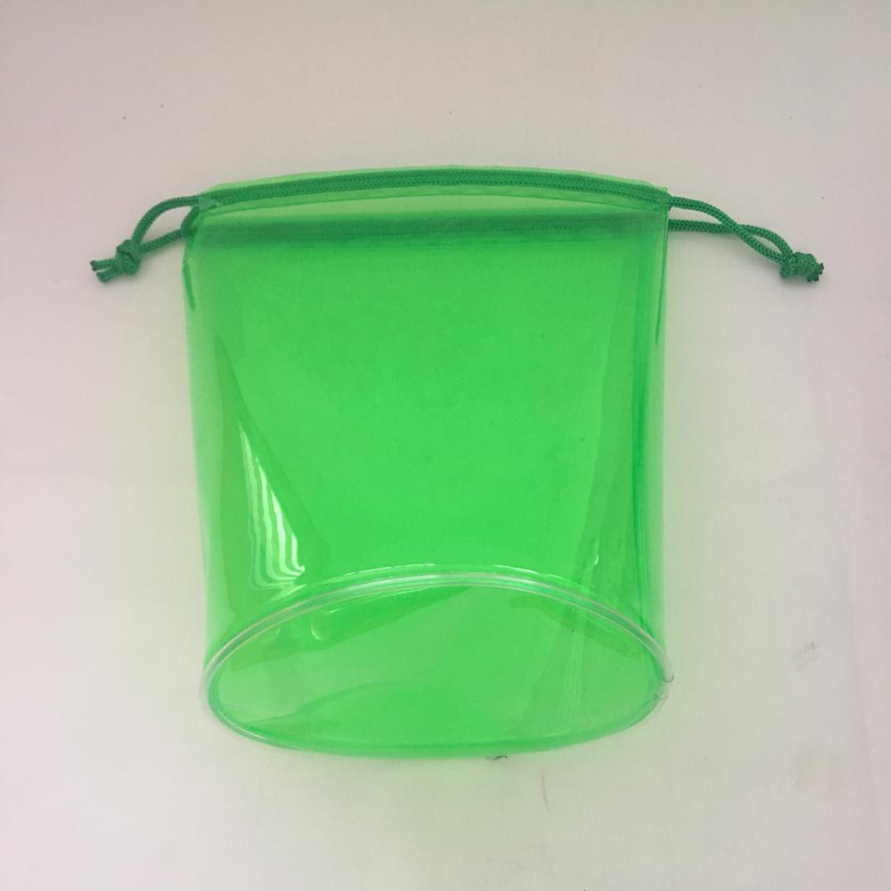 New list neon green round bottom plastic bag golf bag