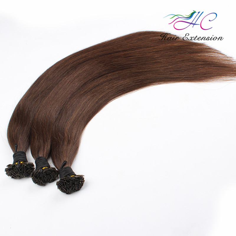 Top Quality Virgin Brazilian Hair 100 Keratin Flat Tip Human Hair Extension