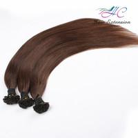 Top Quality Virgin Brazilian Hair 100 Keratin Flat Tip Human Hair Extension
