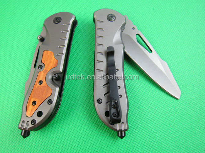 OEM Stainless Steel Mini Portable Survival Folding Camping Knife