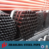 dn400 steel pipe ! erw welded black steel pipe carbon steel straight seam welded pipe supplier