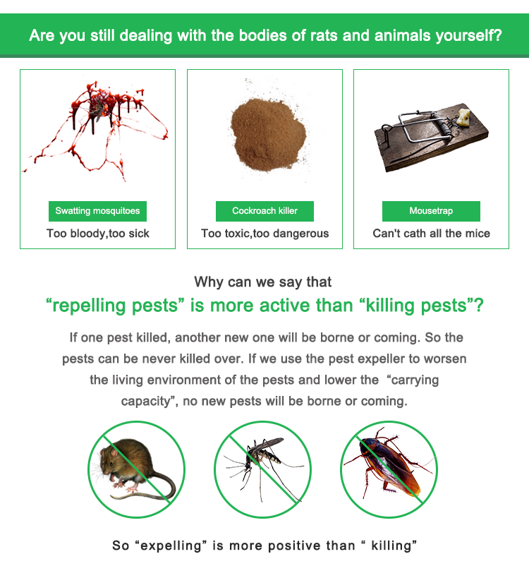 Elektronische Insekten Terminator Ultraschall Insekten Ablehnen Gemeinsame Sonic Pest Abweisend