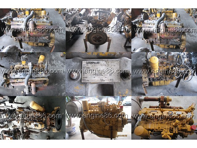 Original used S6K Engine assy& Complete engine assy for 320 320B 320B