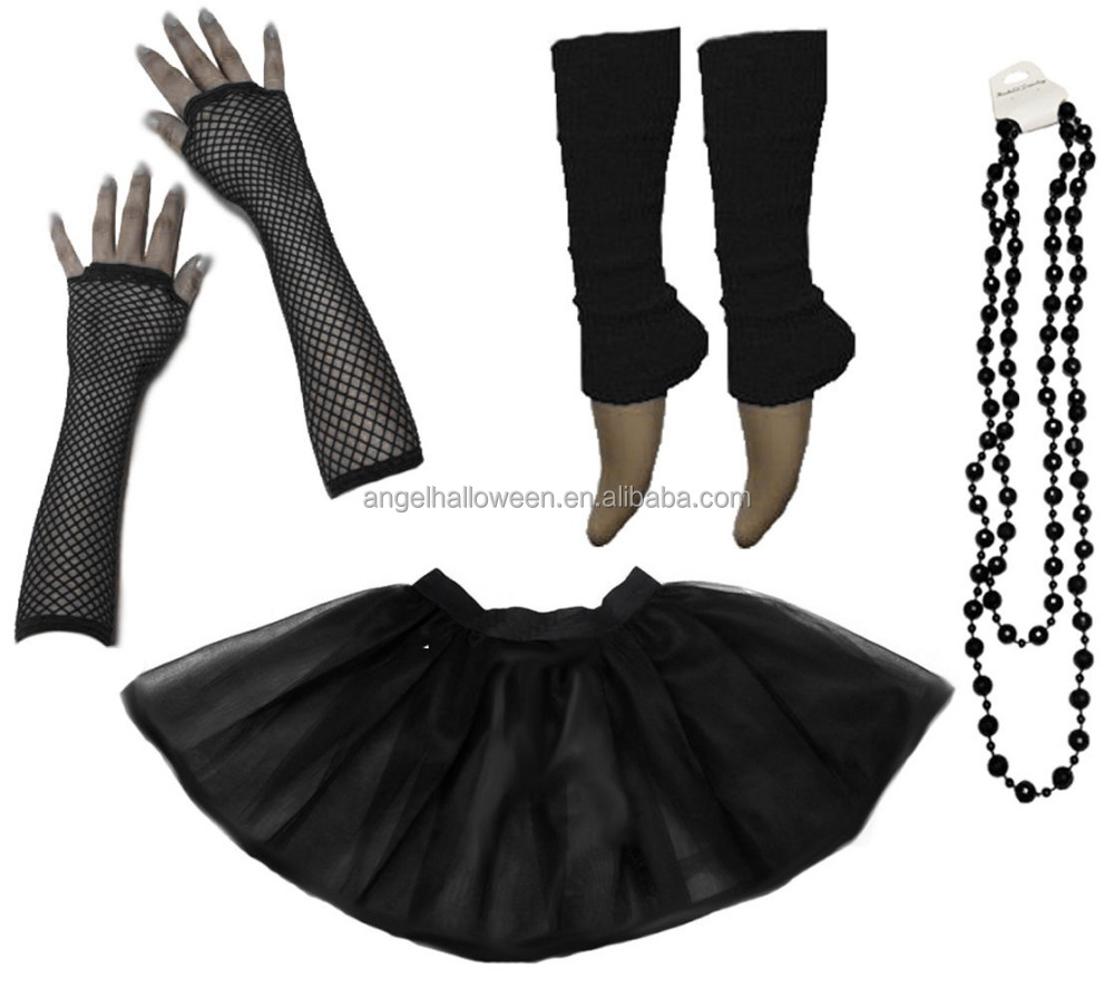 Dancing Girls Tutu Skirt Girl Hen Party 80s Fancy Dress Costume Wonderful NS